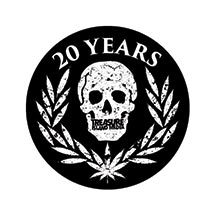 "20 YEAR ANNIVERSARY  - 4.5"" Outdoor Sticker"