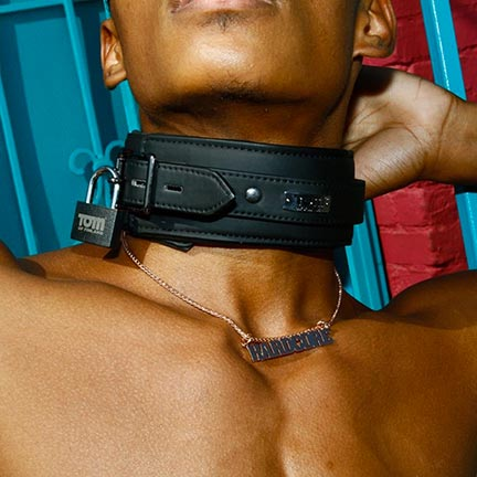 NEOPRENE SLAVE COLLAR - Tom of Finland