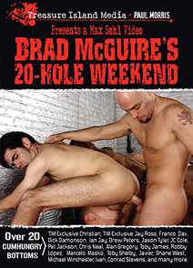 BRAD McGUIRE'S 20-HOLE WEEKEND - SCENE 05 - SATURDAY EVENING: RAPING BRAD'S COCK in Ian Jay