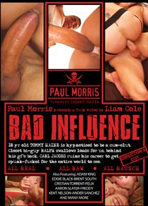 BAD INFLUENCE - SCENE 10 BONUS - BRENT AND AARON FUCK CRISTIAN in Aaron Slater