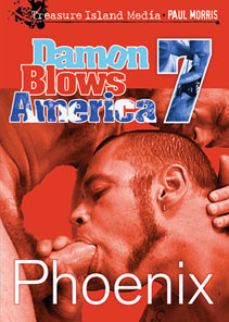 DAMON BLOWS AMERICA 7: PHOENIX - SCENE 03 - SNACK TIME:  COUPLA TWINKS TO-GO in Christian