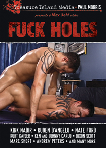 FUCK HOLES - SCENE 03 - START OF A CUM DUMP'S WEEKEND in Adam McIntyre