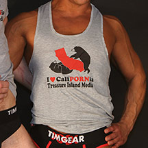 CALIPORNIA - Heather Gray Tank