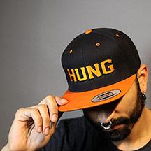 HUNG - Wool Blend Snapback Cap