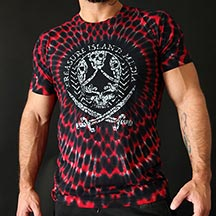 TRI-SKULL CRIMSON -  LIMITED EDITION Tee