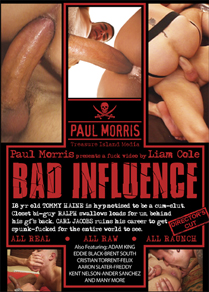 BAD INFLUENCE (DIRECTOR'S CUT) in Aaron Slater