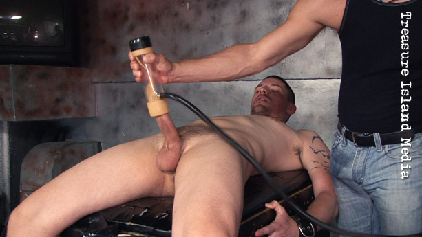 Think learning young men into bondage