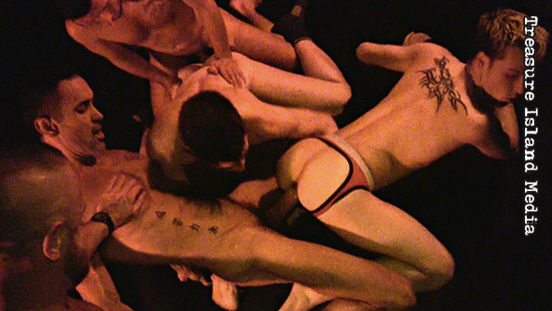 Hot young orgy